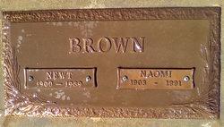 Naomi Lottie <i>Ragsdale</i> Brown