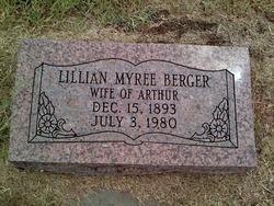 Lillian Myree <i>Botts</i> Berger