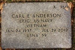 Carl Eugene Anderson