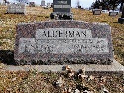 Jennie Pearl <i>Cockrill</i> Alderman