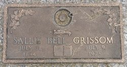 Sallie Daniel <i>Elliott</i> Grissom