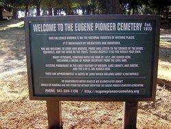 Eugene Pioneer Cemetery