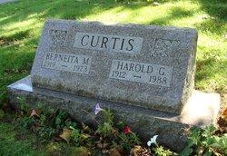 Harold G Curtis