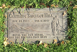 Gertrude Melva <i>Smedley</i> Hill