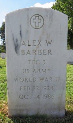 Alex W Barber