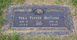 Vera <i>Tappan</i> McClure