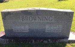 Zadie Florence <i>Massengill</i> Browning