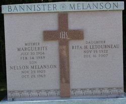 Marguerite Melanson <i>Lachance</i> Bannister