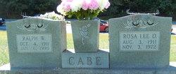 Rosa Lee <i>Dills</i> Cabe