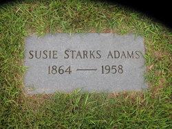 Susie <i>Starks</i> Adams