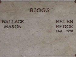 Helen <i>Hedge</i> Biggs
