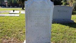 Elizabeth B. Bettie <i>Williams</i> Marshall