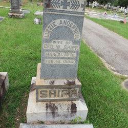 Sarah Elizabeth Lizzie <i>Anderson</i> Shipp