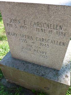 John Edward Carscallen