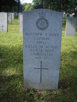 Capt Matthew Johnathan Dawe