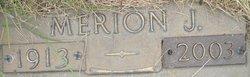 Merion J <i>Simonson</i> Bradach