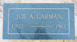 Joe A Garman