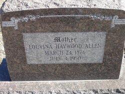 Louvina <i>Haywood</i> Allen