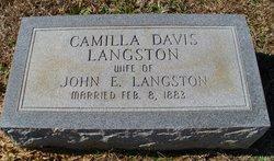 Camilla <i>Davis</i> Langston