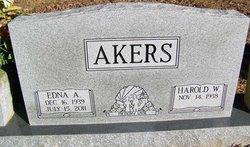 Edna Ann <i>Ricks</i> Akers