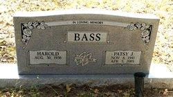 Patsy Jean <i>Hitt</i> Bass