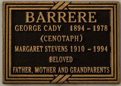 Margaret Stevens <i>Stevens</i> Barrere