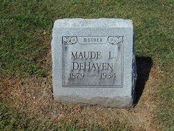 Maude L. <i>Shacklett</i> DeHaven