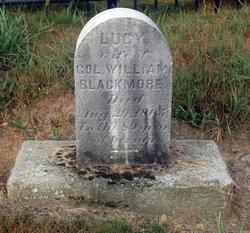 Lucy <i>Richardson</i> Blackmore