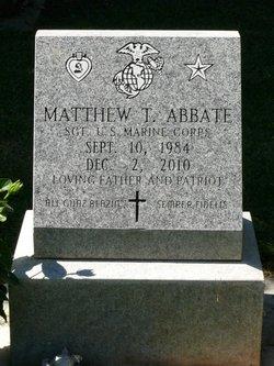 Sgt Matthew Thomas Abbate