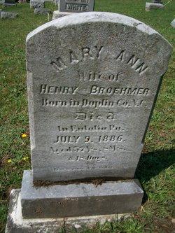 Mary Ann <i>Herring</i> Brehmer
