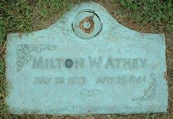 Milton Woodard Milt Athey