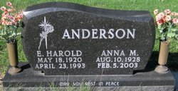 Anna M. <i>Thacker</i> Anderson