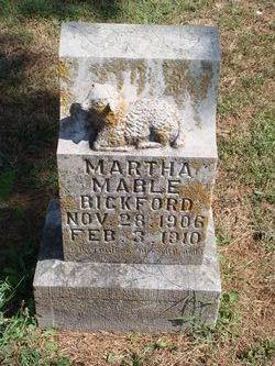 Martha Mable Bickford