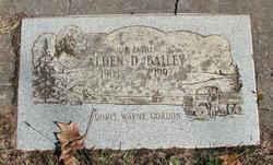 Alden DeWitt Bailey
