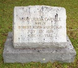 Mary Julia <i>Carwile</i> Marsh