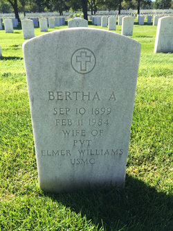 Bertha A Williams