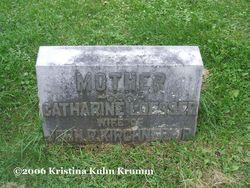 Catharine <i>Loesser</i> Kirchner