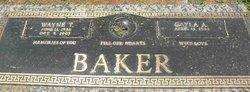 Wayne Thomas Baker, Sr