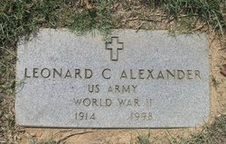 Leonard C. Alexander