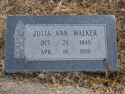 Julia Ann Walker