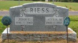 Adelia Maria <i>Rist</i> Riess