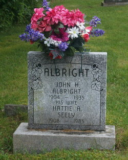 Hattie A. <i>Seely</i> Albright