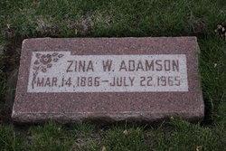 Rosina E Zina <i>Woodland</i> Adamson