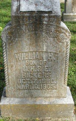 William H Bickers
