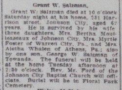 Grant Wellington Salsman