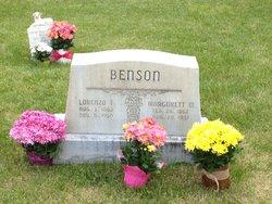 Lorenzo Taft Benson