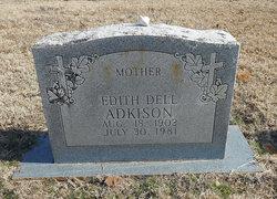 Edith Dell <i>Utley</i> Adkison