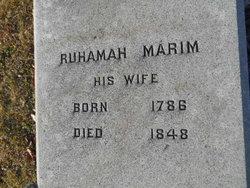 Ruhamah <i>Marim</i> Comegys