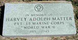 Harvey Adolph Matter