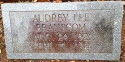 Audrey Lee Branscome